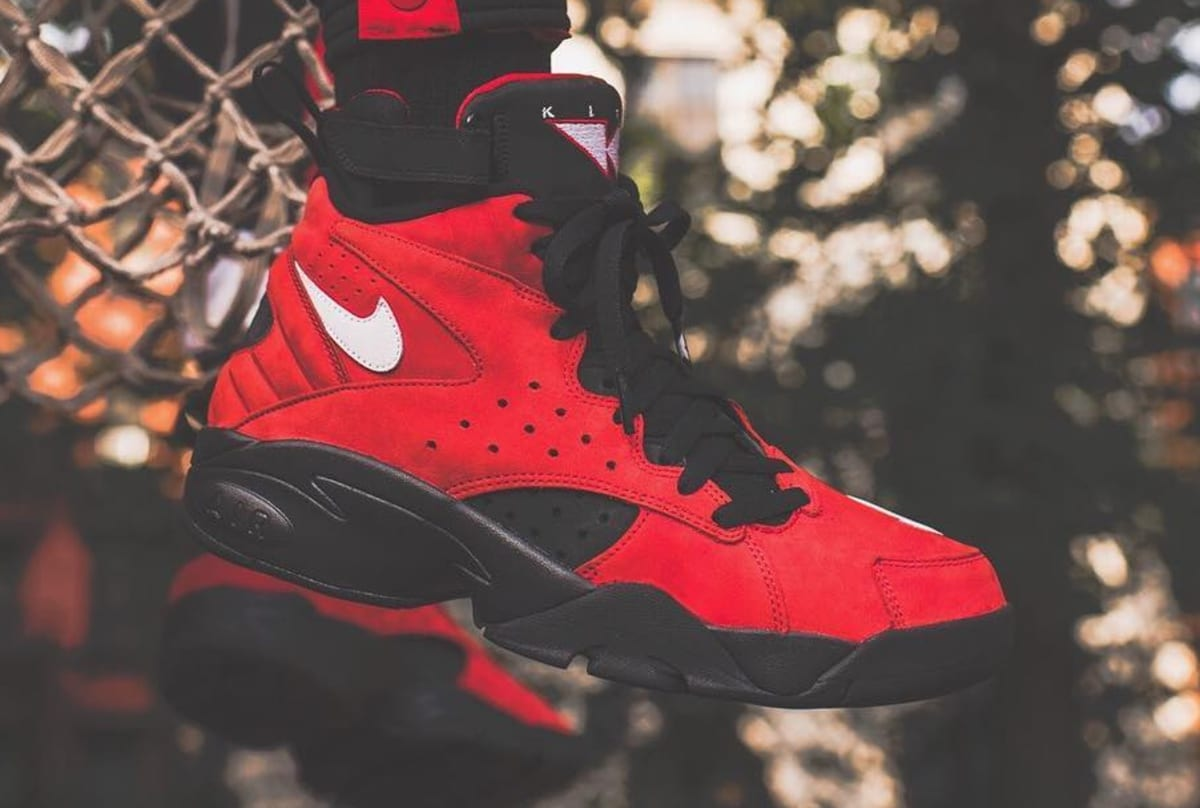 best service 3577d 11e64 Kith Nike Air Maestro 2 Red Suede Ronnie Fieg Pippen Sole C