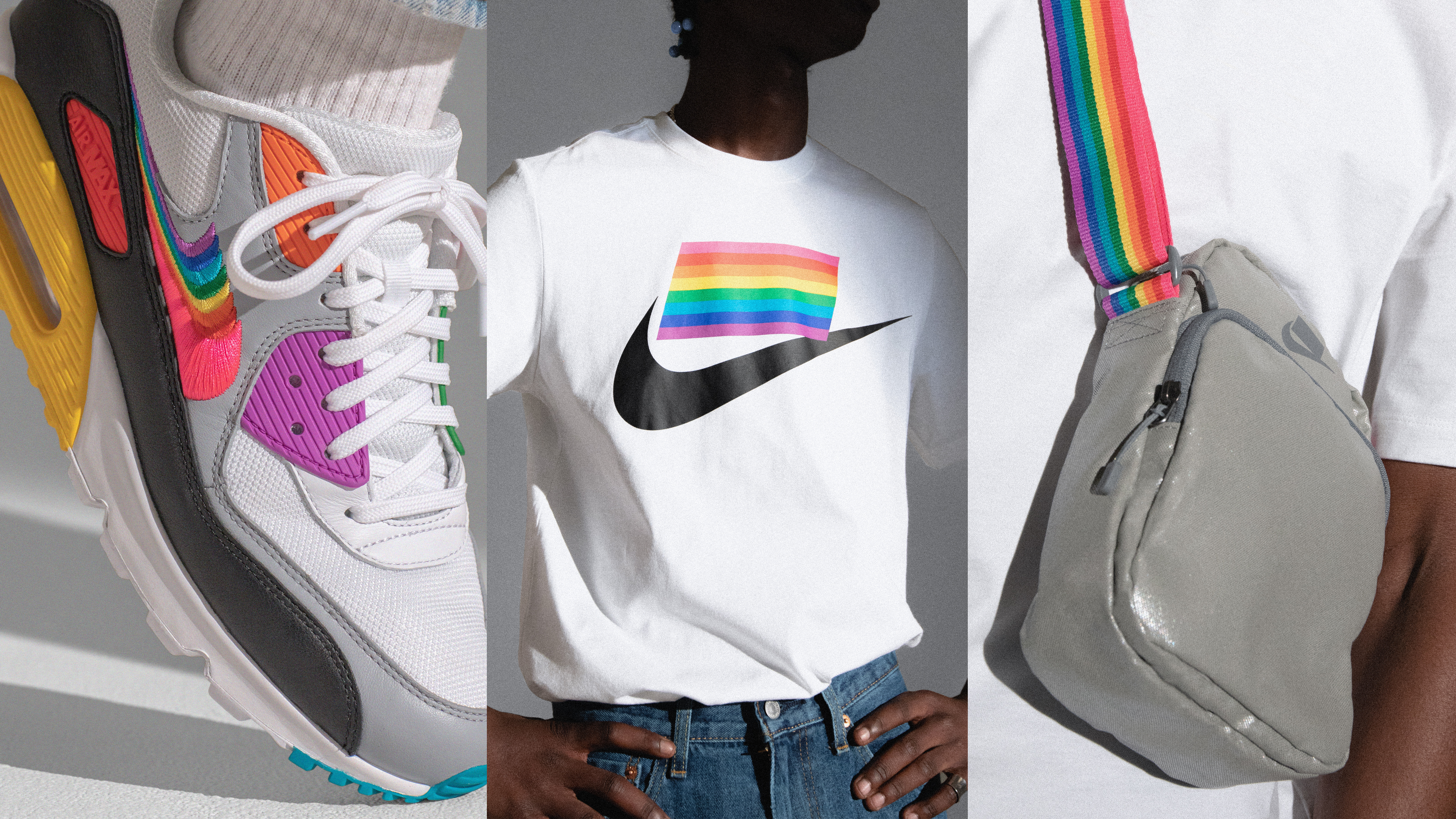new product fccdf 8615d Nike s 2019  BETRUE  Collection Is a Tribute to Pride Flag Designer Gilbert  Baker