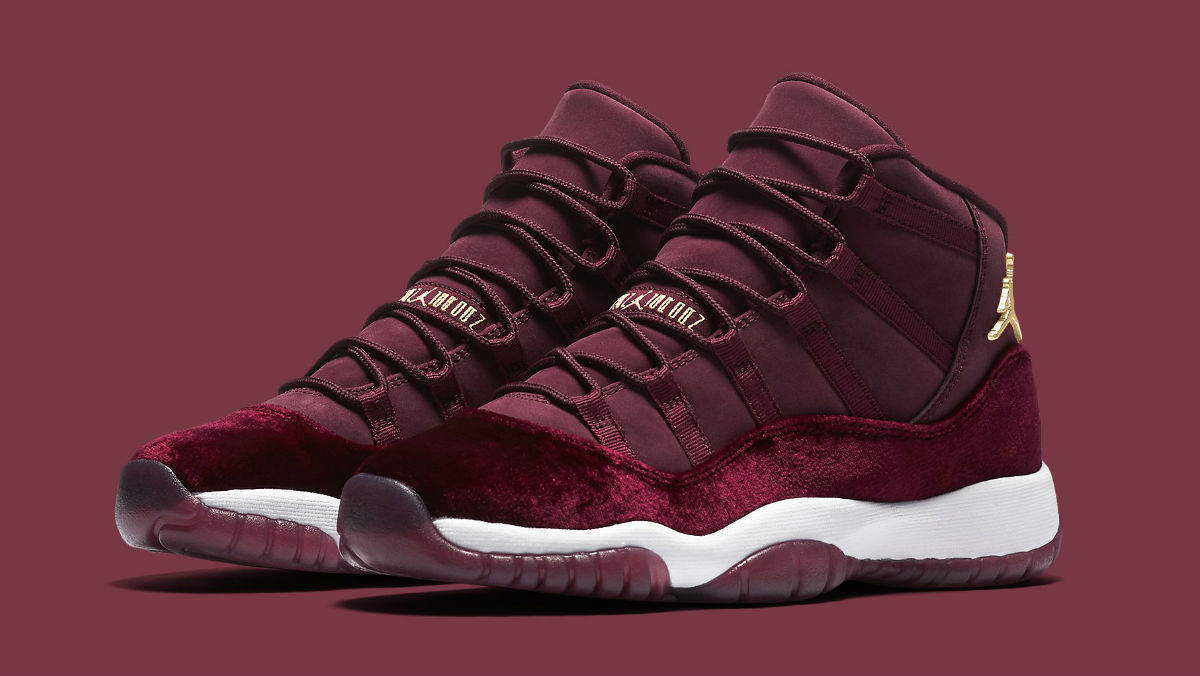 new concept 2b9b0 f507d Air Jordan 11 Velvet   Sole Collector