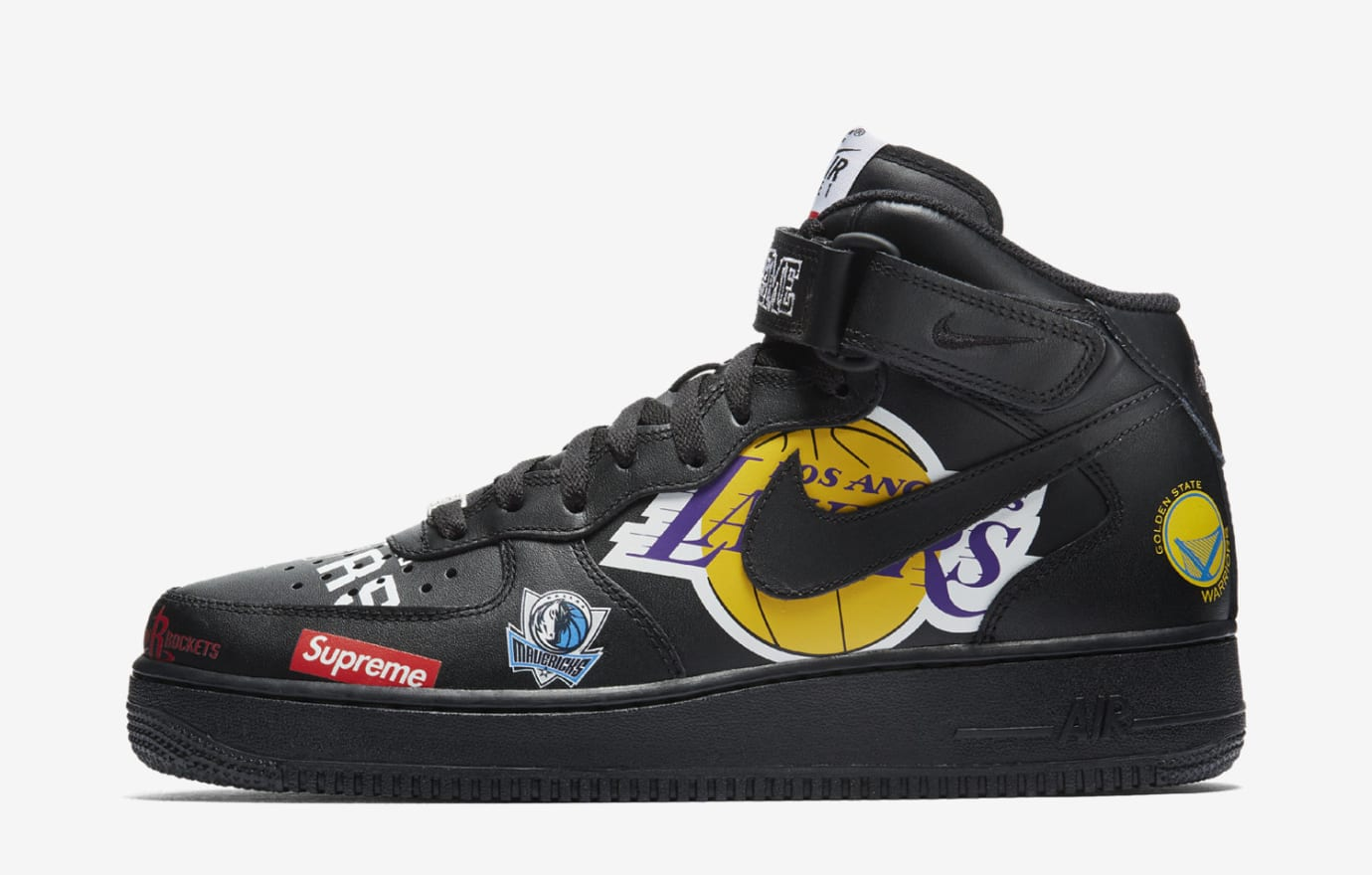 1 Force ReleaseSole Air Mid Collector X Nba Supreme Snkrs Nike K1FlcJ