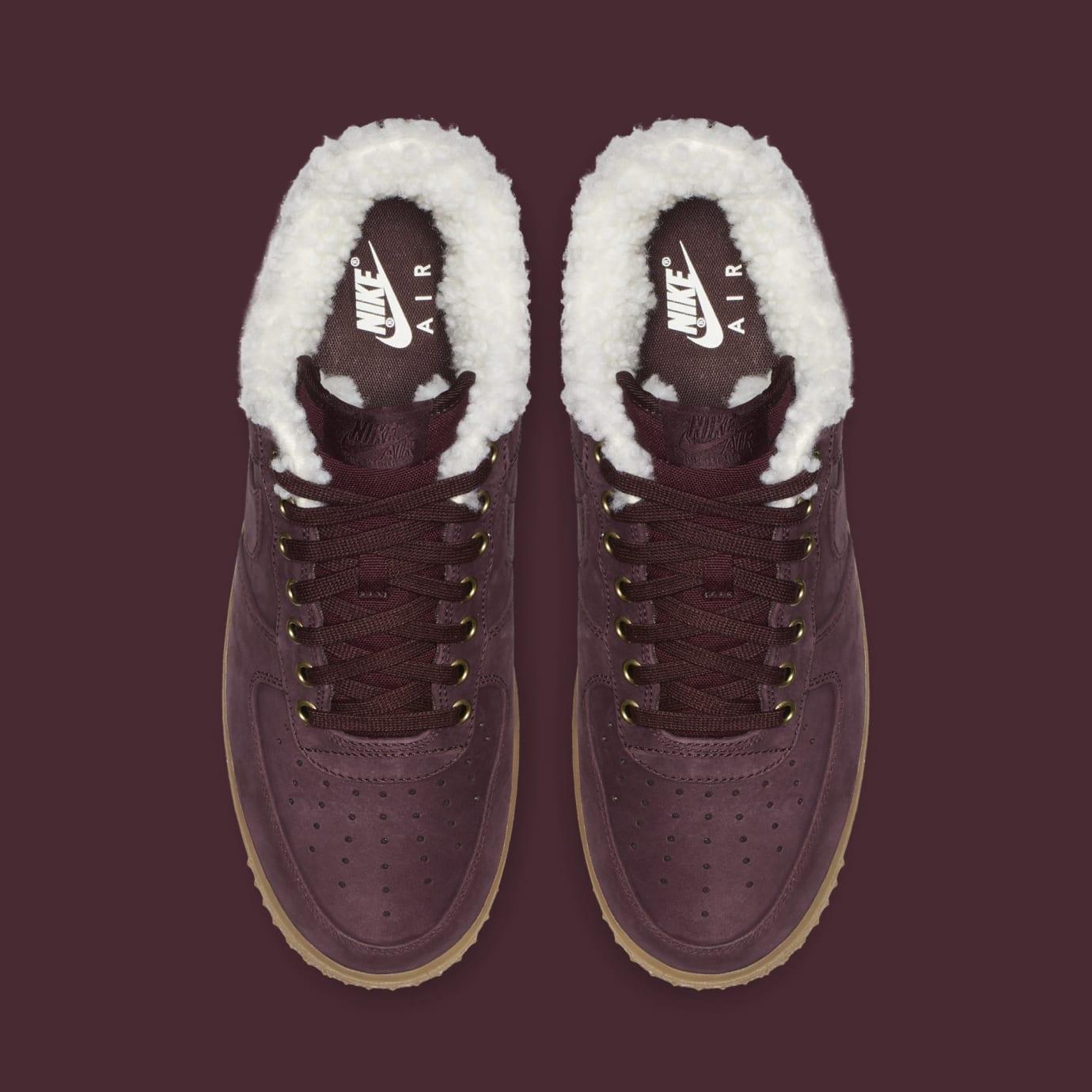 Nike 1 Crushgum Air Winter Brown Light Premium 'burgundy Force tshrCBoQdx