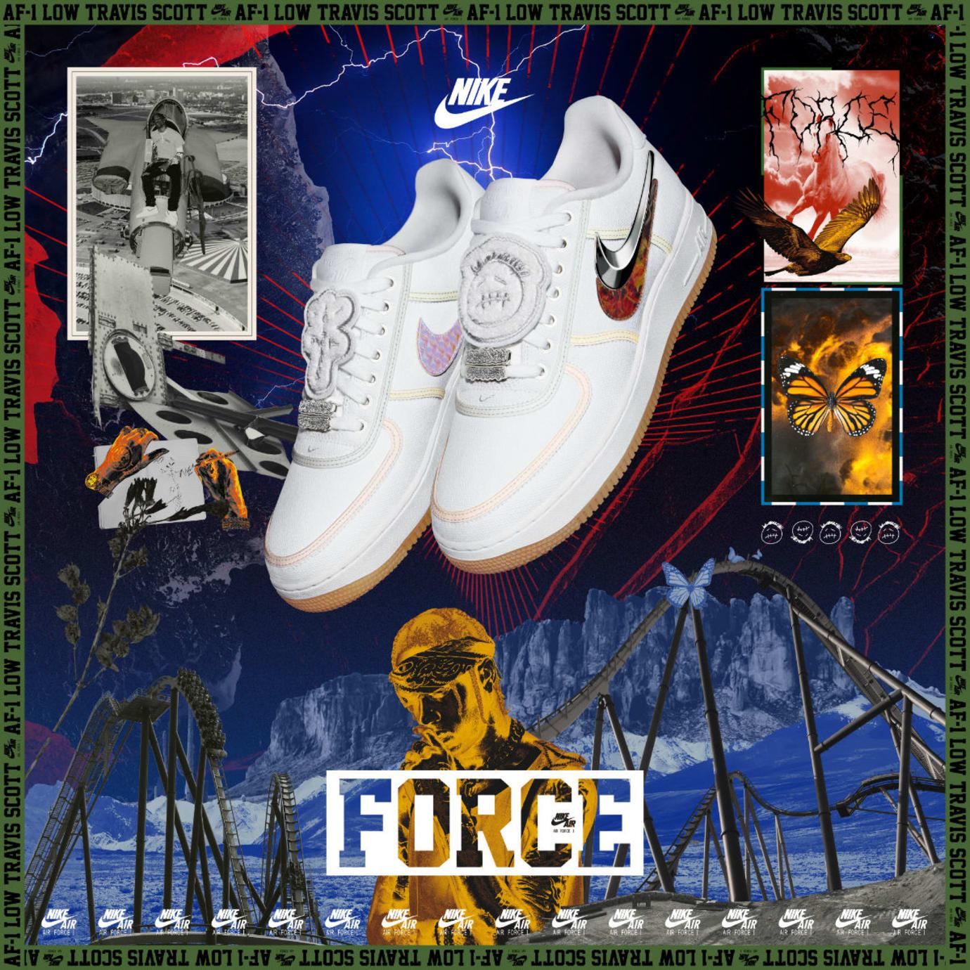 Nike Snkrs ReleaseSole Cam Collection Force 100 1 Air Af App FJTKl1c3
