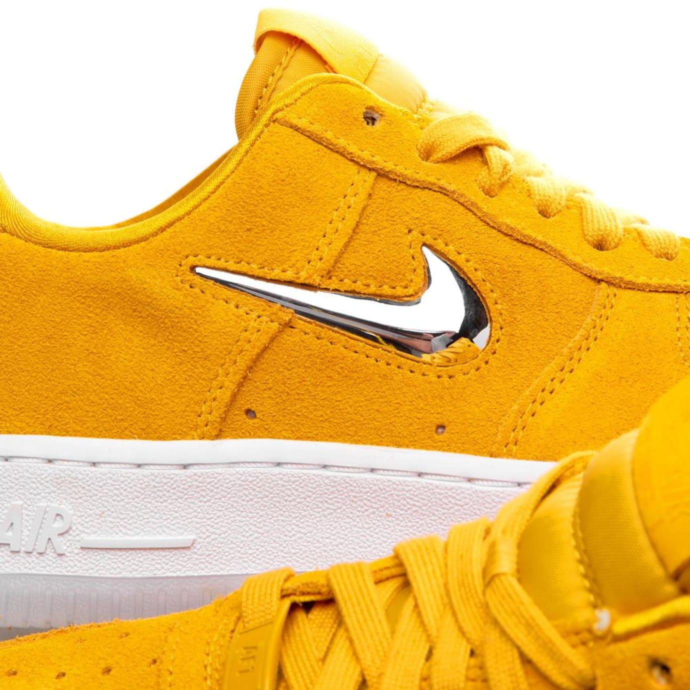 Yellow Silverwhite Lx '07 Force Ochremetallic 1 Premium Nike Air 3K1JTlFc