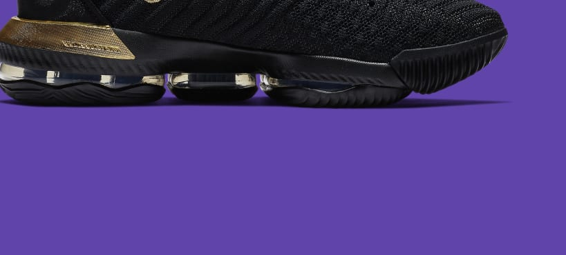 2ece2f5b9402 Nike LeBron 16  I m King  Black Metallic Gold-Black BQ5970-007 Release Date