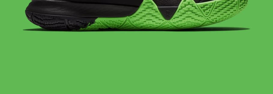 8b52be9e34f658 Nike Kyrie 4 Black Rage Green Halloween Release Date 943806-012 ...