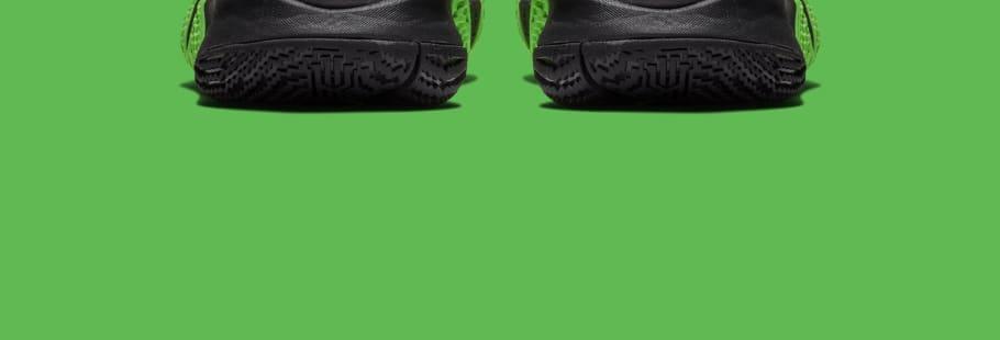Nike Kyrie 4 Black Rage Green Halloween Release Date 943806-012 ... 10c69b5ca