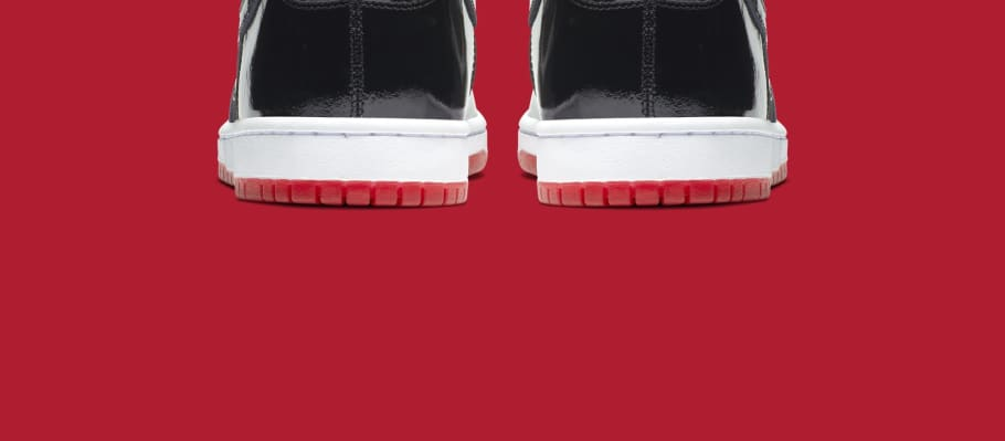 5c1263f0fa4 Nike SB Dunk High  Bred  AJ7730-001 Release Date
