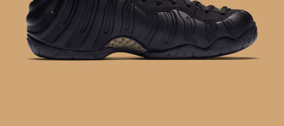 301e191083c151 Nike Air Foamposite Pro  Black Metallic Gold  Release Date