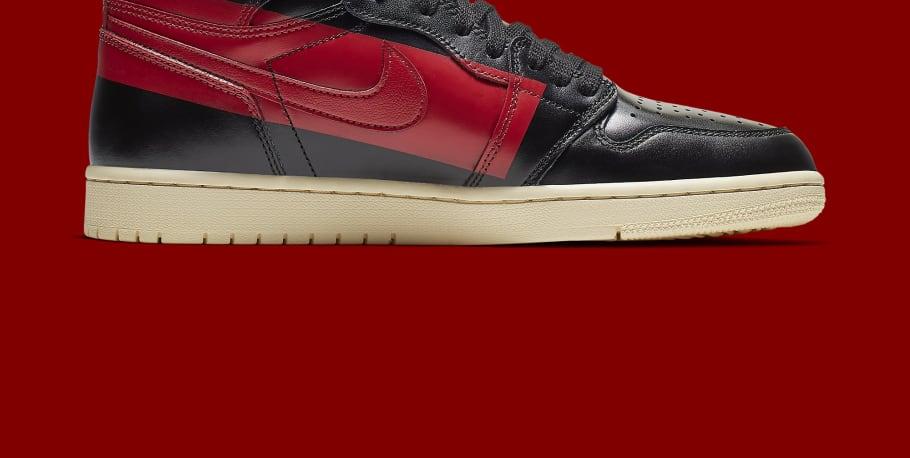 982c9d5ba0e3 Air Jordan 1 High OG Defiant  Black Gym Red Muslin  Release Date ...