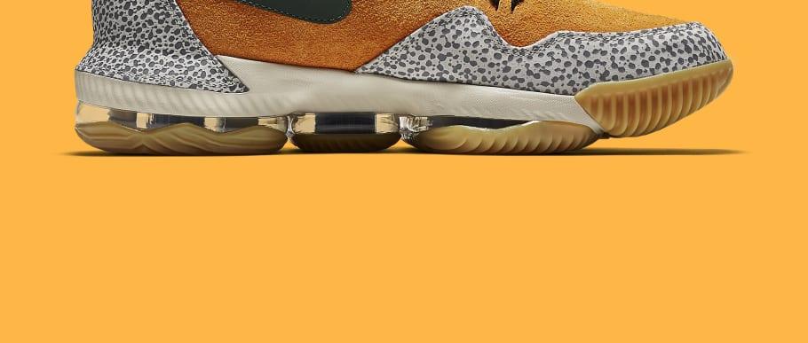 b2f60686f8745 Nike LeBron 16 Low  Safari  Release Date CI3358-800