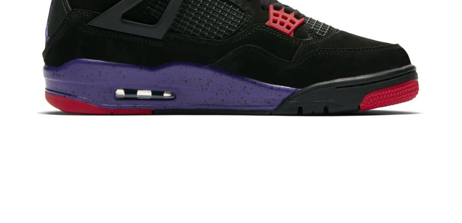 new styles ad6da 0cec1 Air Jordan 4 Retro NRG  Black University Red Court Purple   AQ3816-056  Release Date   Sole Collector