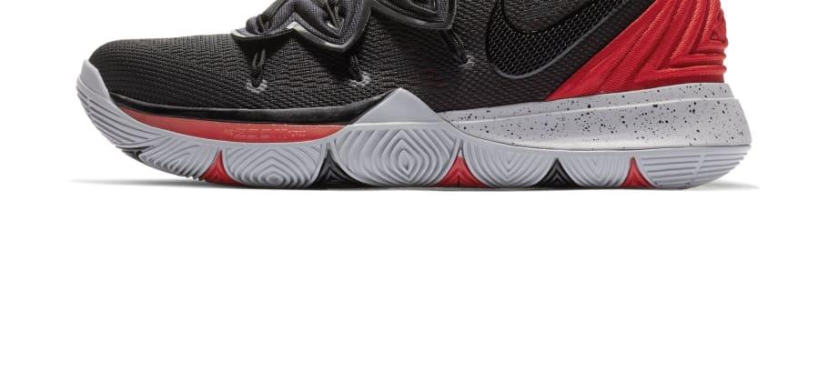 cbcfc12e24a4 Nike Kyrie 5  University Red Black  AO2919-600 Release Date