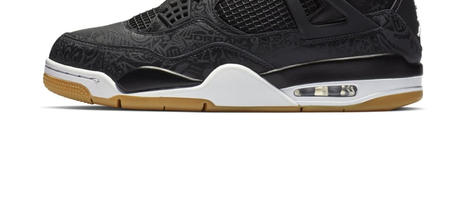 Air Jordan 4 SE Retro  Laser  Black White-Gum Light Brown Release Date  CI1184-001  13ed27dea