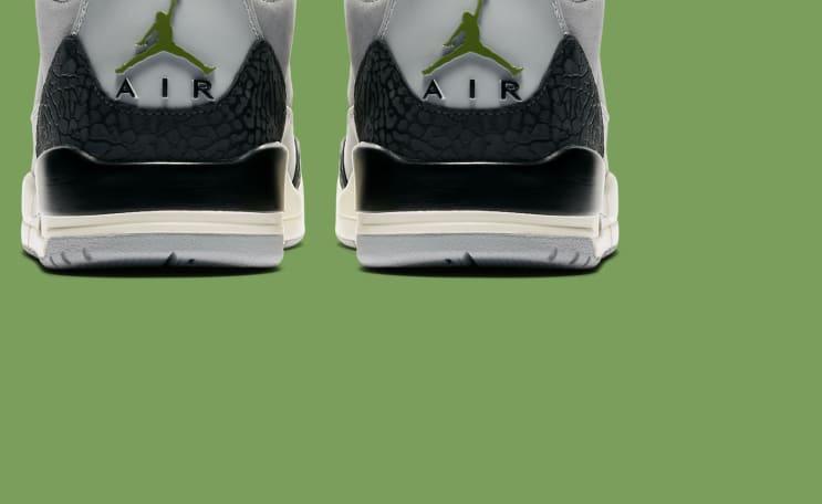 c0484b3579456a Air Jordan 3 III Chlorophyll Release Date 136064-006
