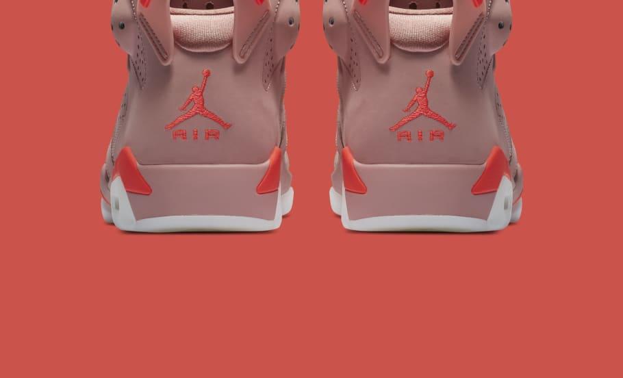 79e9aaa6c8e2 Aleali May x Air Jordan 6  Millennial Pink  CI0550-600 Release Date ...