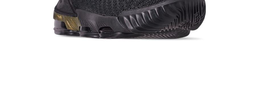 4bfb6a4e37086 Nike LeBron 16  I m King  Black Metallic Gold-Black BQ5970-007 Release Date