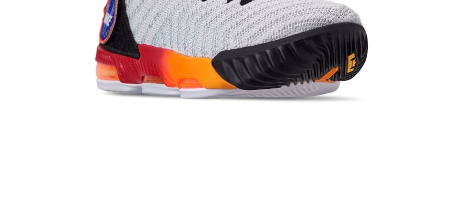 4713c35fe69 Nike LeBron 16 Boys  White Laser Orange  AQ2465-188 Release Date ...