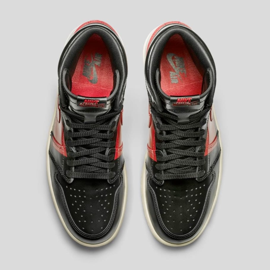 0cc468831595b9 Air Jordan 1 High OG Defiant  Black Gym Red Muslin  Release Date ...