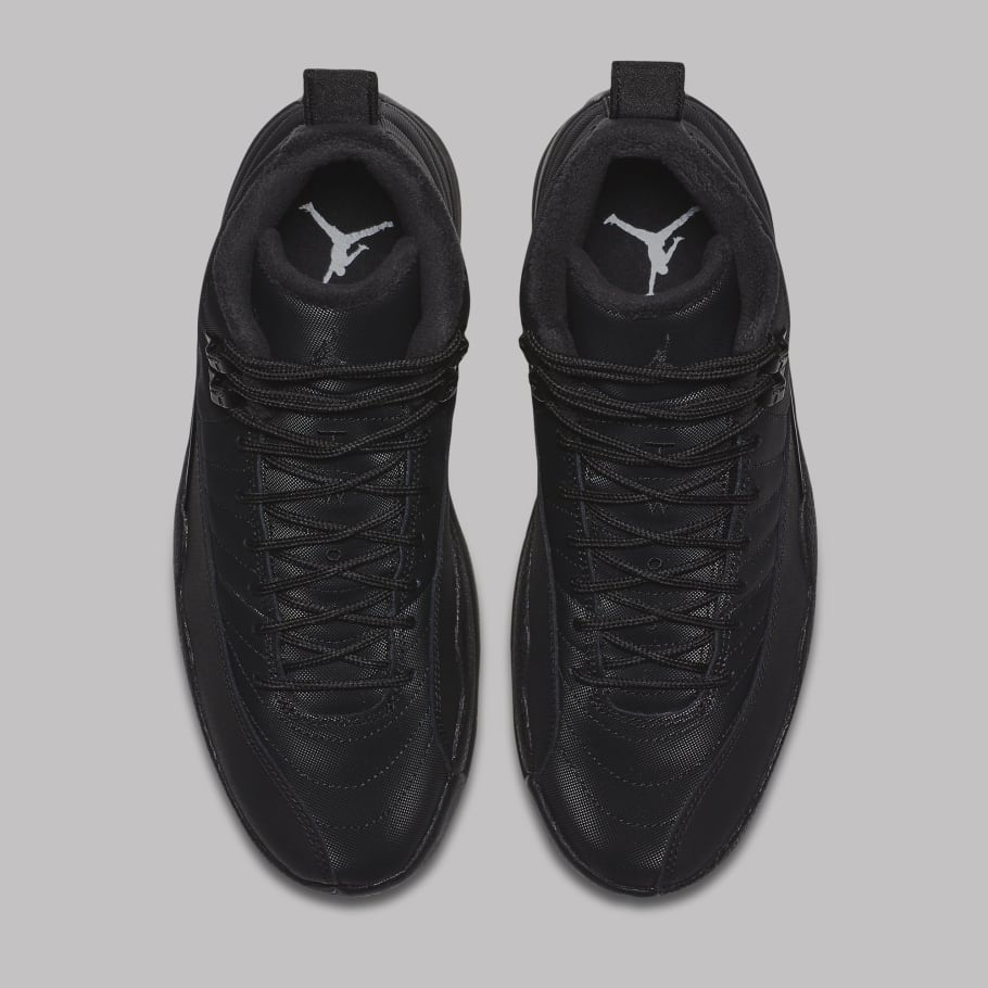 f3ae33e68b9 Air Jordan 12 Black Winterized BQ6851-001 Release Date