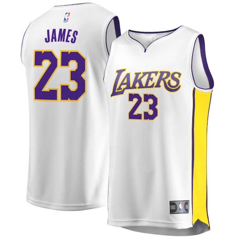 newest 035ba bc035 LeBron James Los Angeles Lakers Jerseys Selling Out | Sole ...