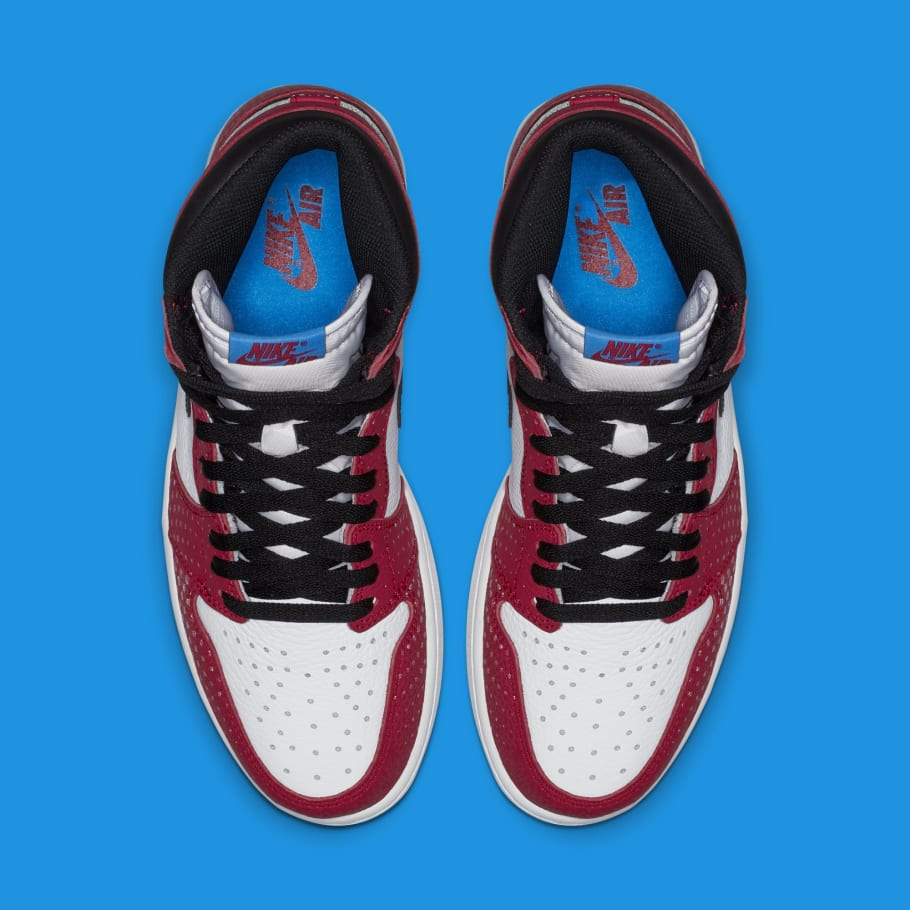 49d1217848f Air Jordan 1 High OG 'Origin Story' 555088-602 Release Date 12/14/2018 |  Sole Collector