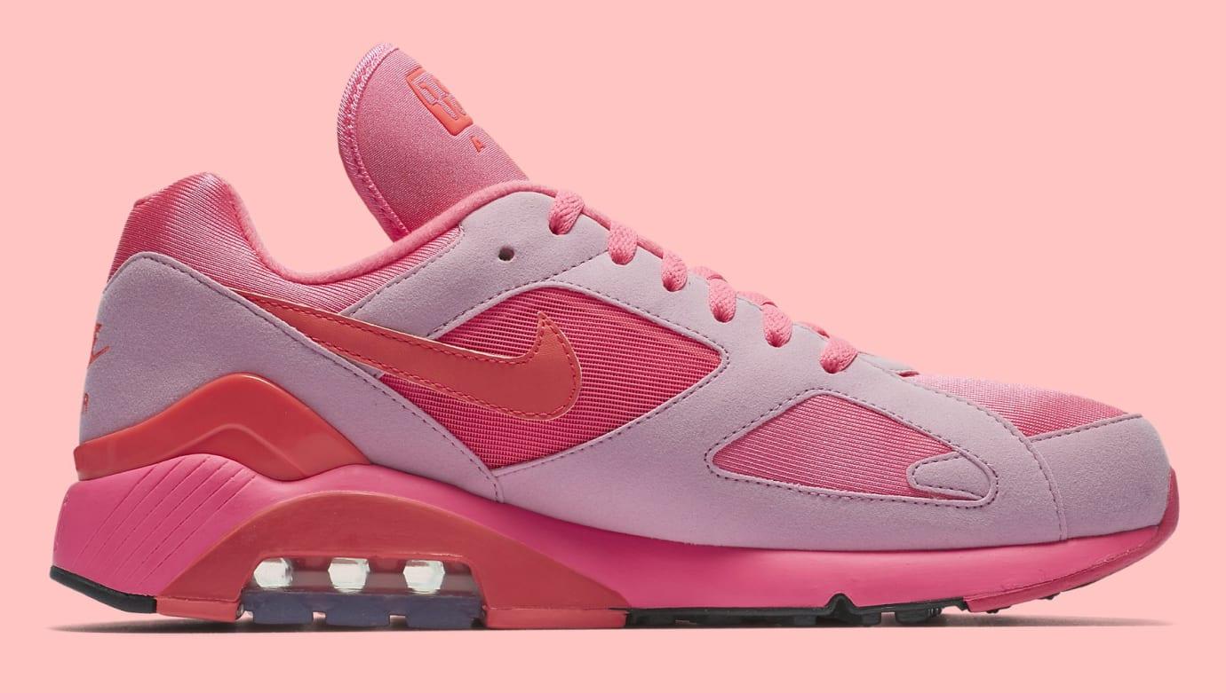Comme des Garçons x Nike Air Max 180 'Pink' AO4641-602 (Medial)