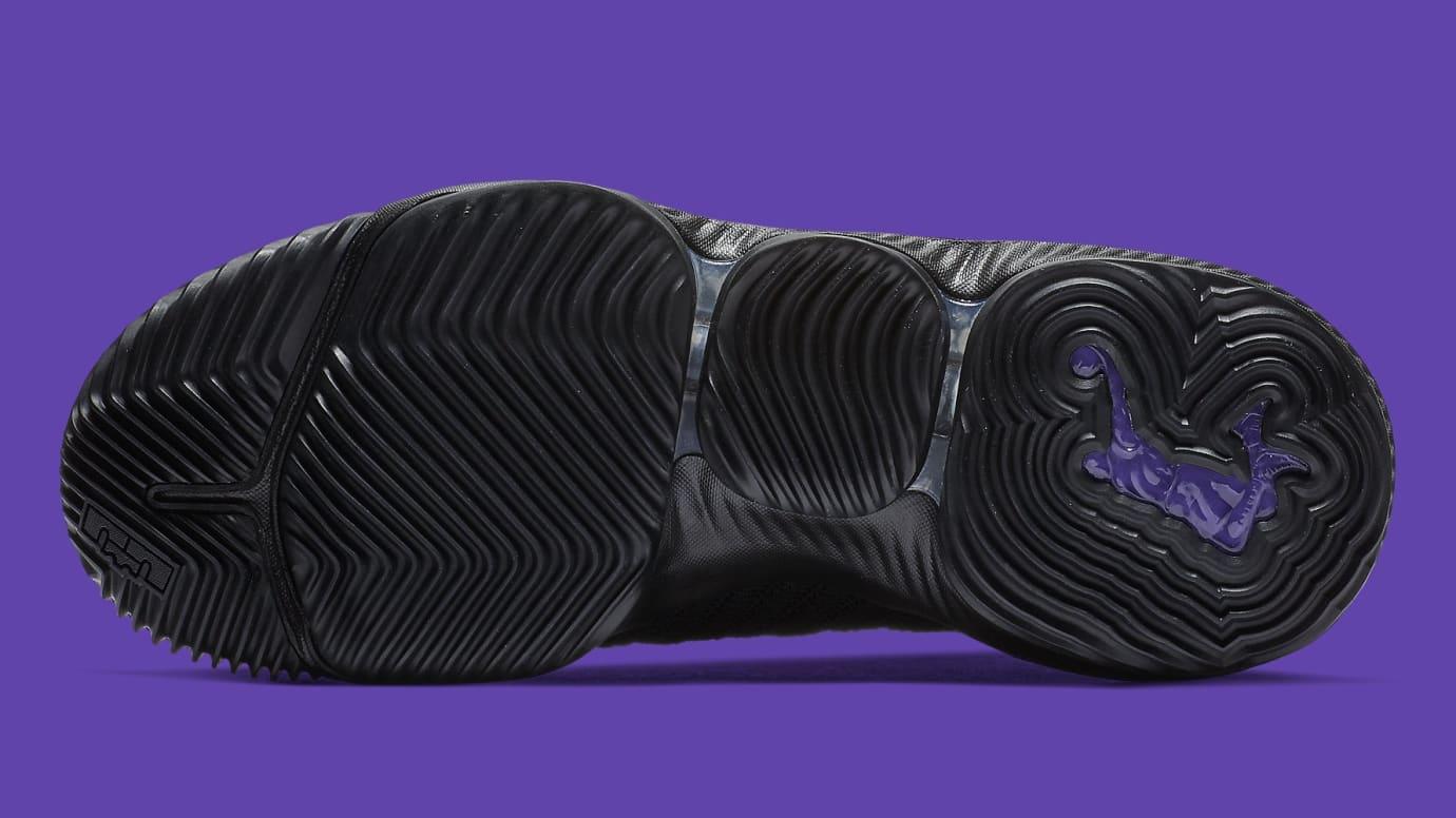c65e64a9c17 Image via Nike Nike LeBron 16 XVI I m King Release Date BQ5970-007 Top Sole
