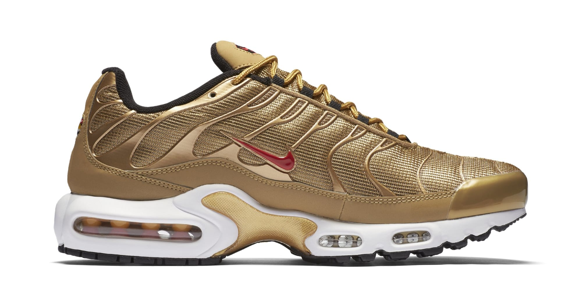 Nike Air Max Plus 'Metallic Gold' 903827-700 (Medial)