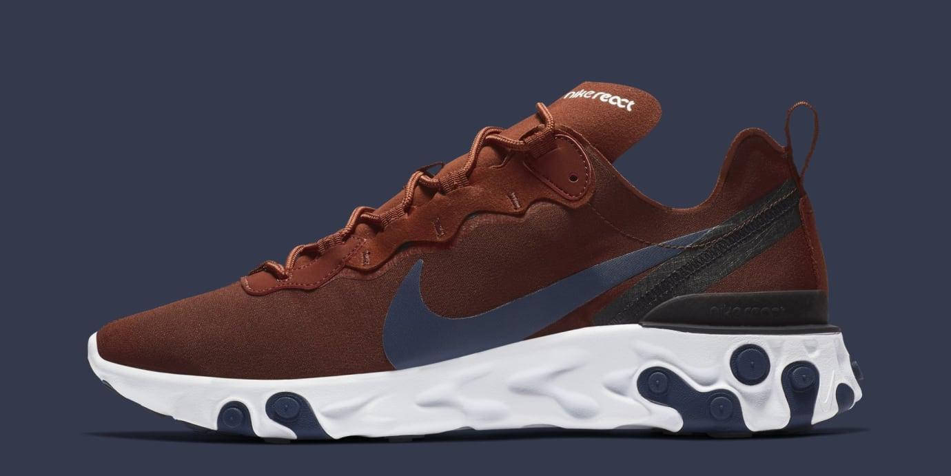 Nike React Element 55 'Brown' BQ6166-600 (Lateral)