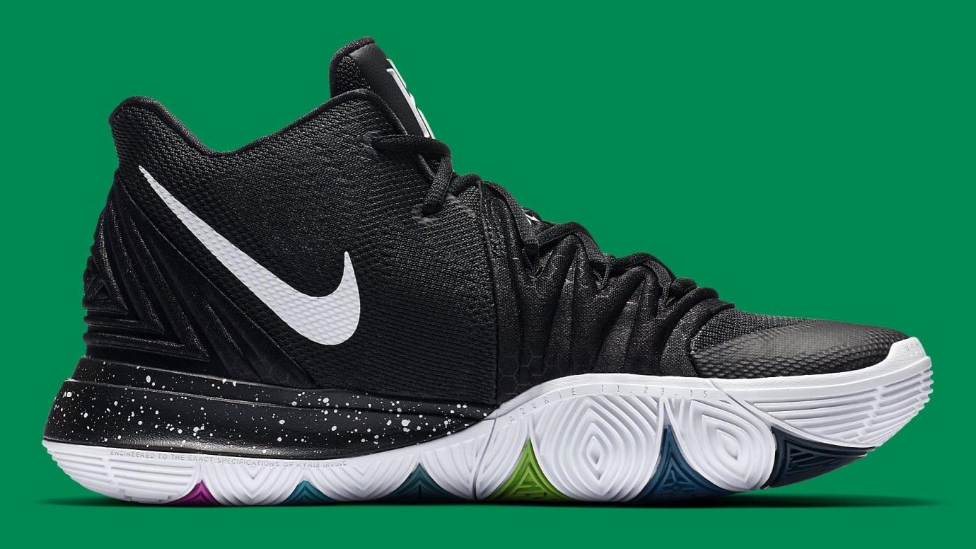 0b35ef02eb57 Image via Nike Nike Kyrie 5 Black Magic Release Date AO2918-901 Medial