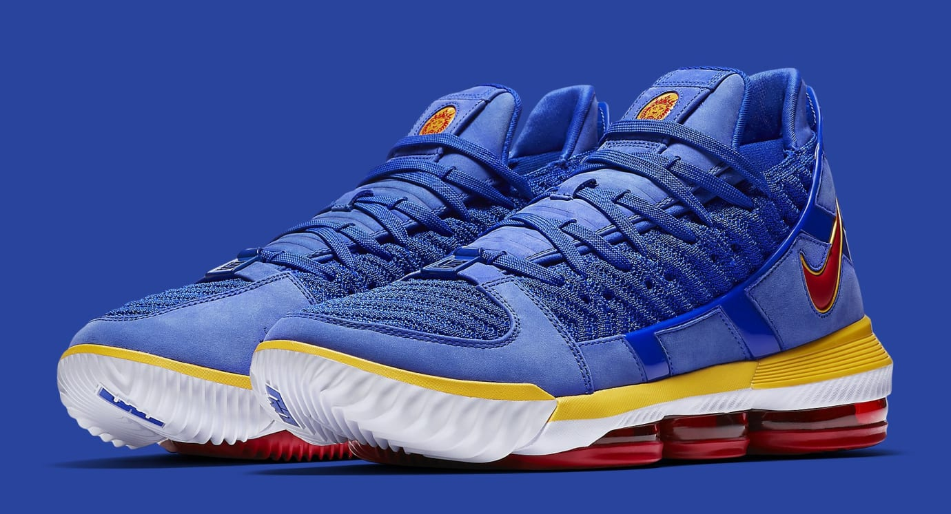Nike LeBron 16 'SuperBron Blue' CD2451-400 Pair