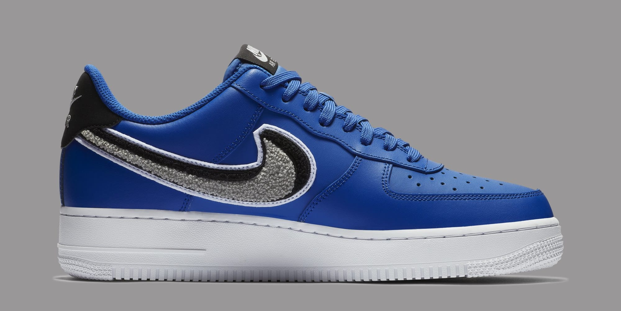 Nike Air Force 1 Low 3D Swoosh 823511-409 (Medial)