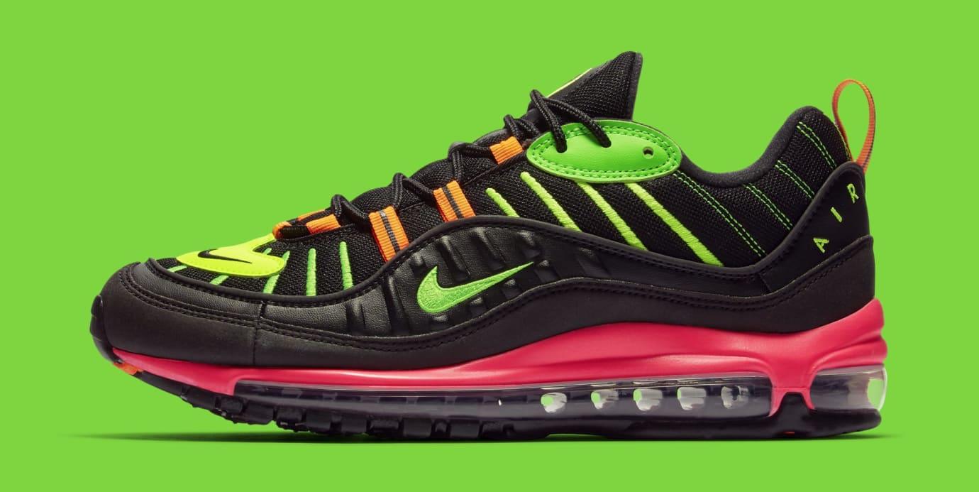 Nike Air Max 98 'Tokyo Neon' CI2291-083 (Lateral)