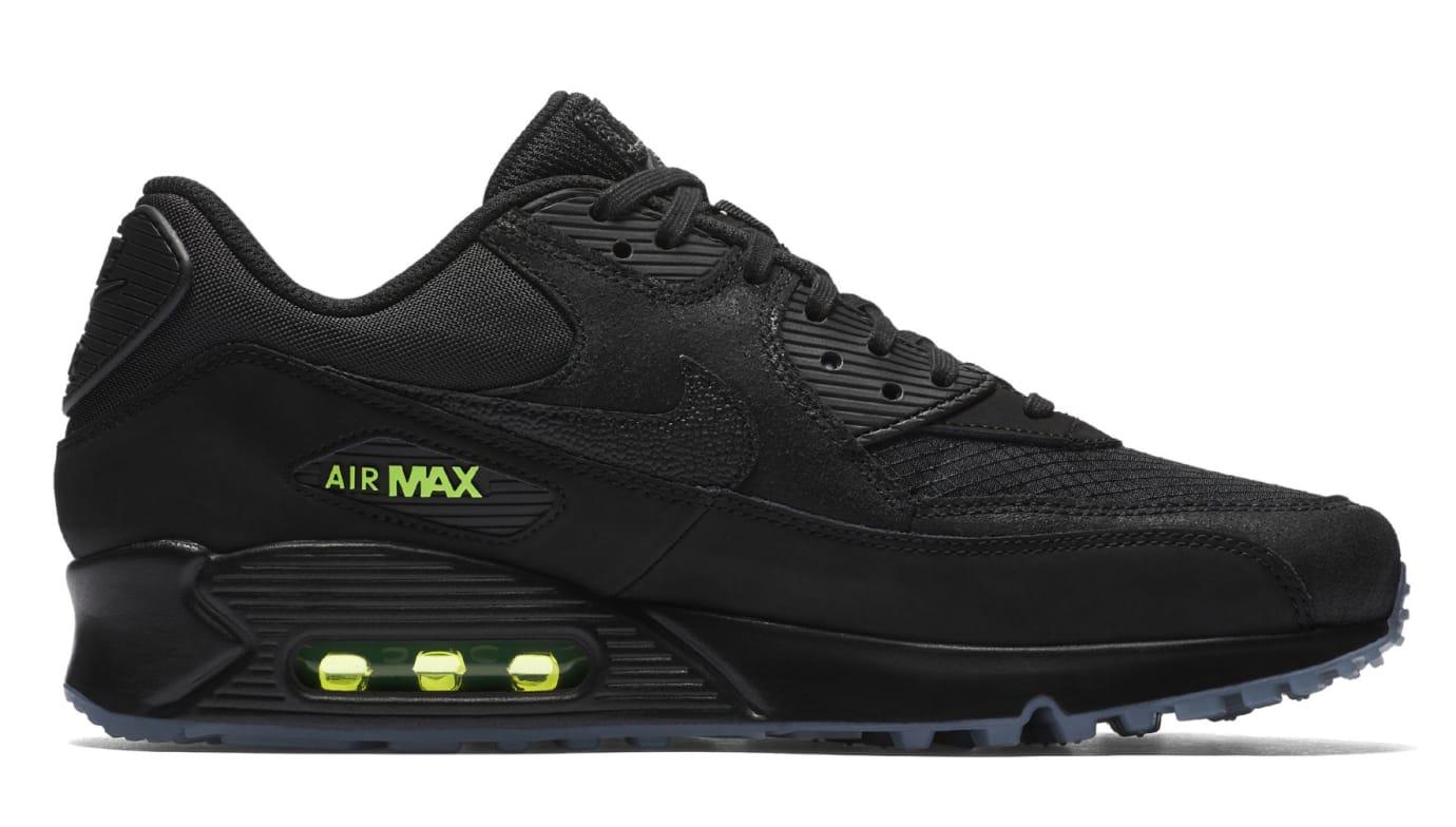 Nike Air Max 90 'Black/Volt' AQ6101-001 (Medial)