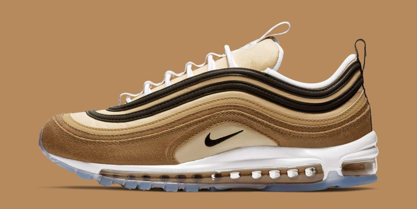 Nike Air Max 97 'Ale Brown/Black-Elemental Gold' 921826-201 (Lateral)