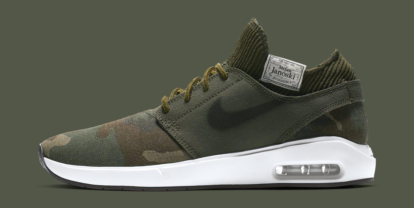 39efdf74222 Nike SB Air Max Janoski 2 AQ7447-001 AQ7447-100 AT5878-203 Release ...