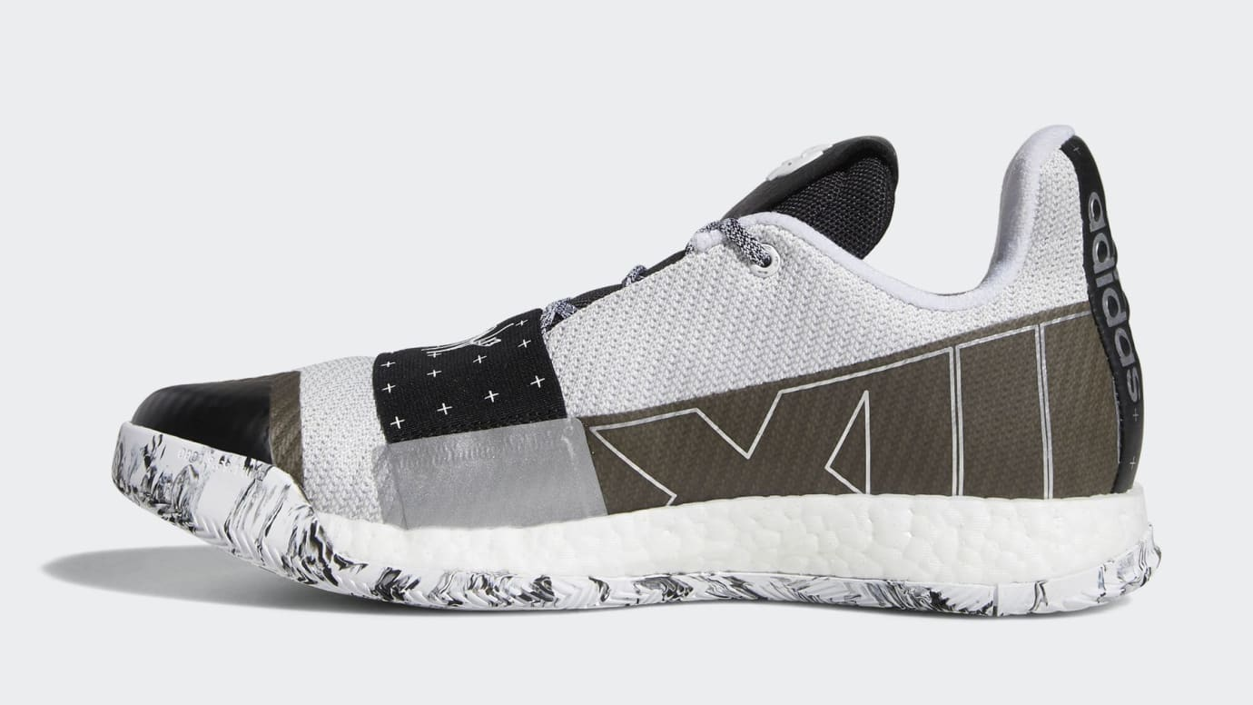 519b9a06763a Image via US 11 Adidas adidas-harden-vol-3-white-black-release-date-