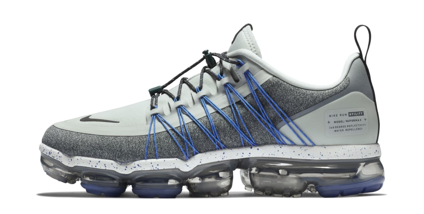 Nike Air VaporMax Run Utility 'Grey' (Lateral)