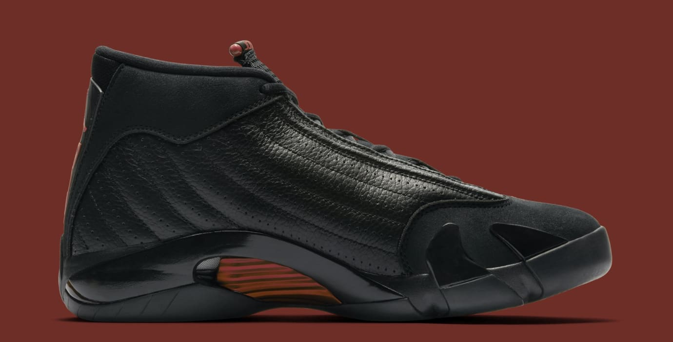 520276c90ae8a6 Image via Nike Air Jordan 14 Retro  Last Shot  487471-003 (Medial)