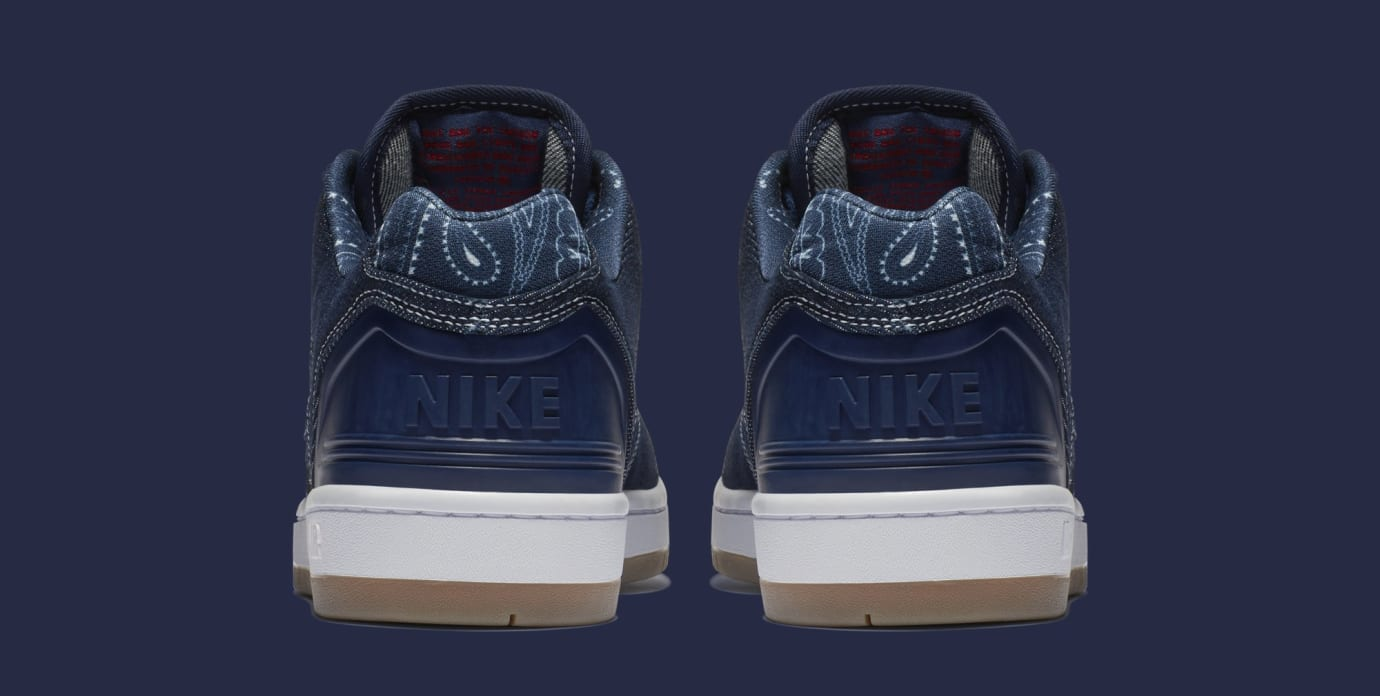 Nike SB Air Force 2 Low '2pac' AO0298-441 (Heel)