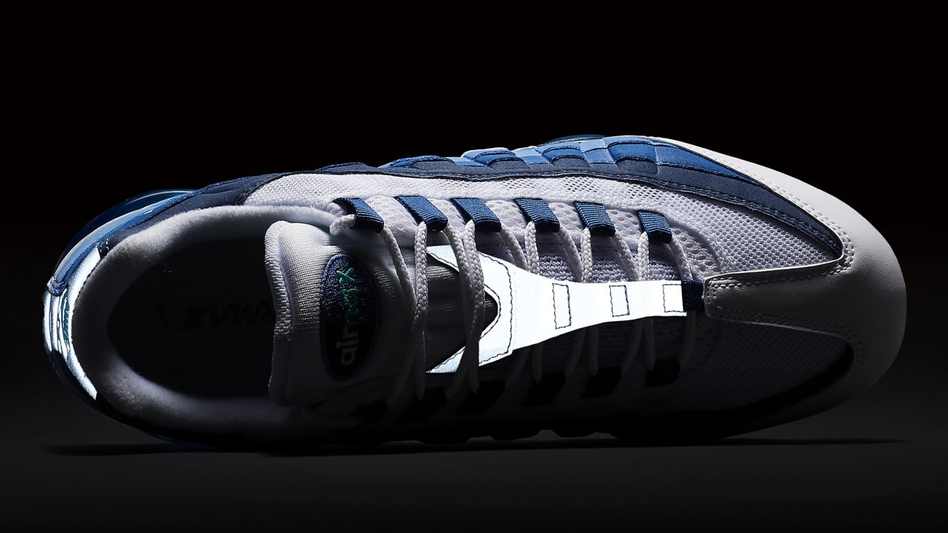 47a4b85164 Image via Nike Nike Air VaporMax 95 Slate Release Date AJ7292-100 3M