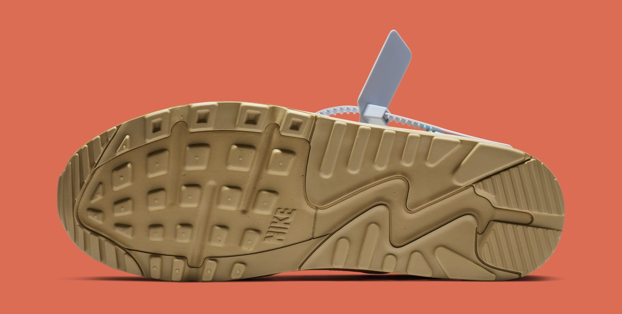 Off White X Nike Air Max 90 Desert Ore Aa7293 200 Release Date