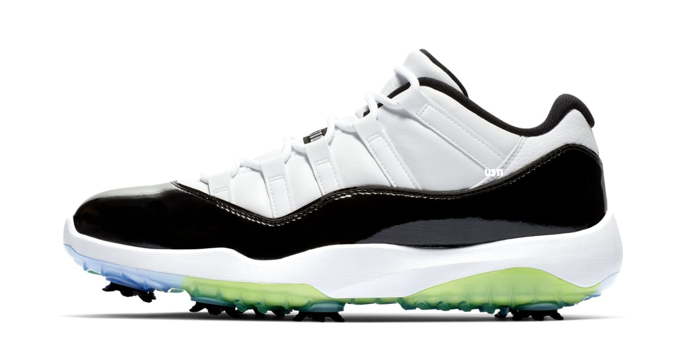 Air Jordan 11 Golf 'Concord' (Lateral)
