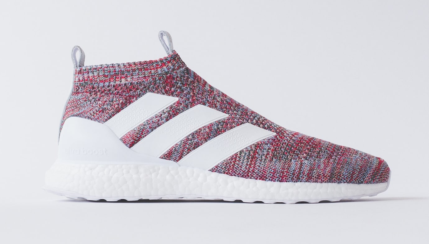 Kith x Adidas Soccer Ace 16+ Purecontrol Ultra Boost (Lateral)