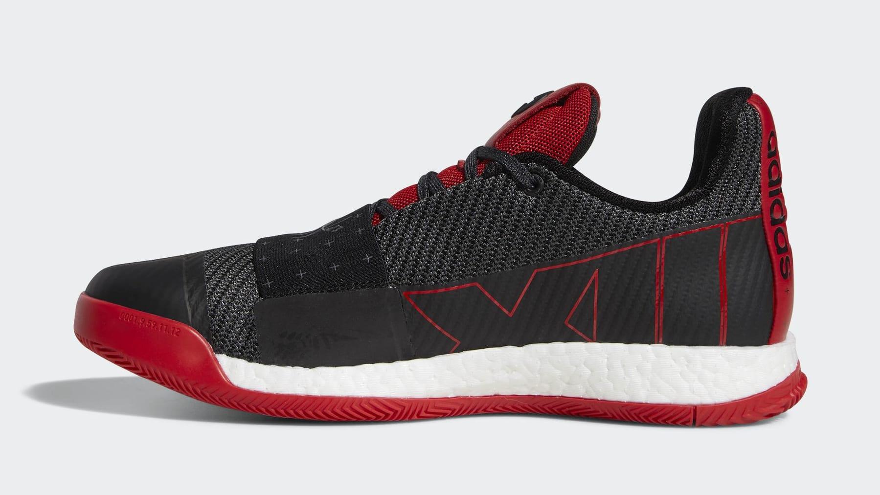 buy popular ccabf 77390 ... czech adidas harden vol 3 black red release date 1b875 00e1a