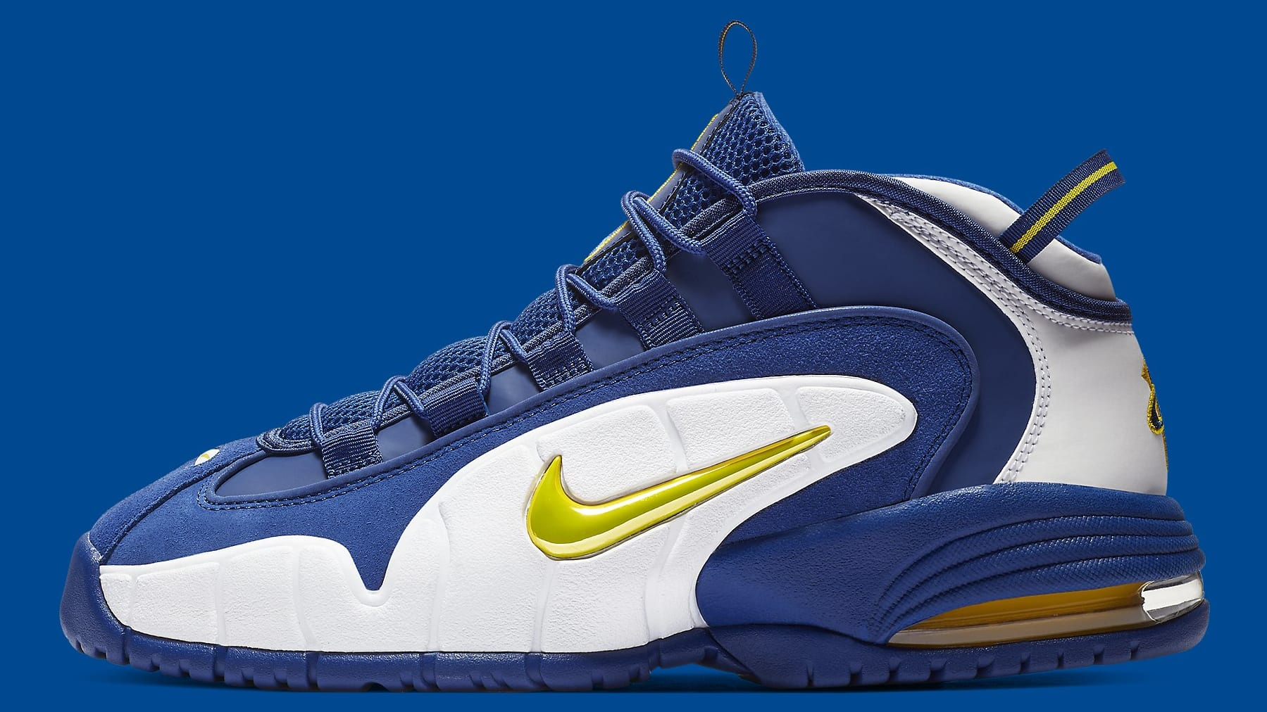 ca1ecf574e Nike Air Max Penny 1 Warriors House Party Release Date 685153-401 ...