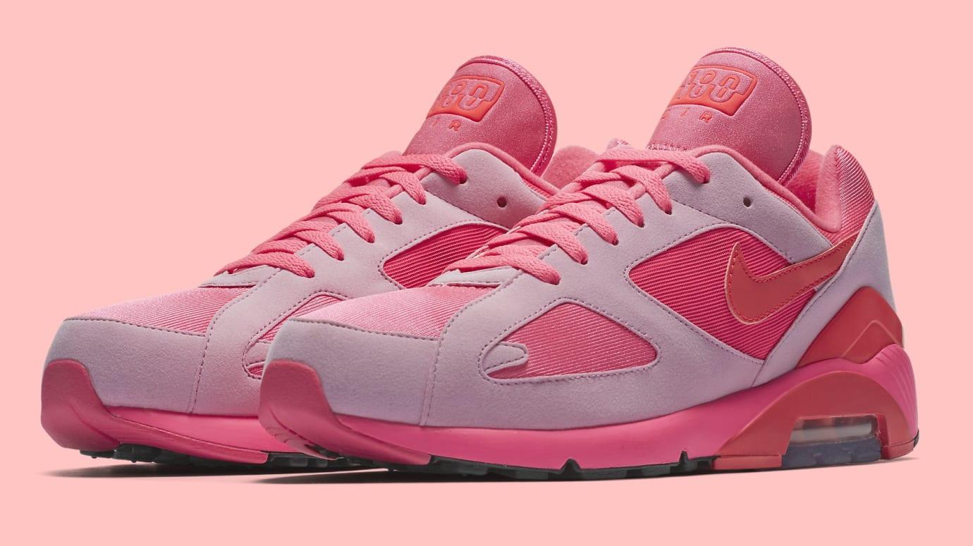 Comme des Garçons x Nike Air Max 180 'Pink' AO4641-602 (Pair)