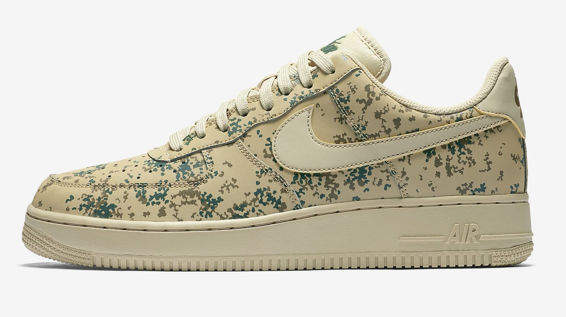 Nike Air Force 1 Low 'Country Camo' 823511-700 (Lateral)