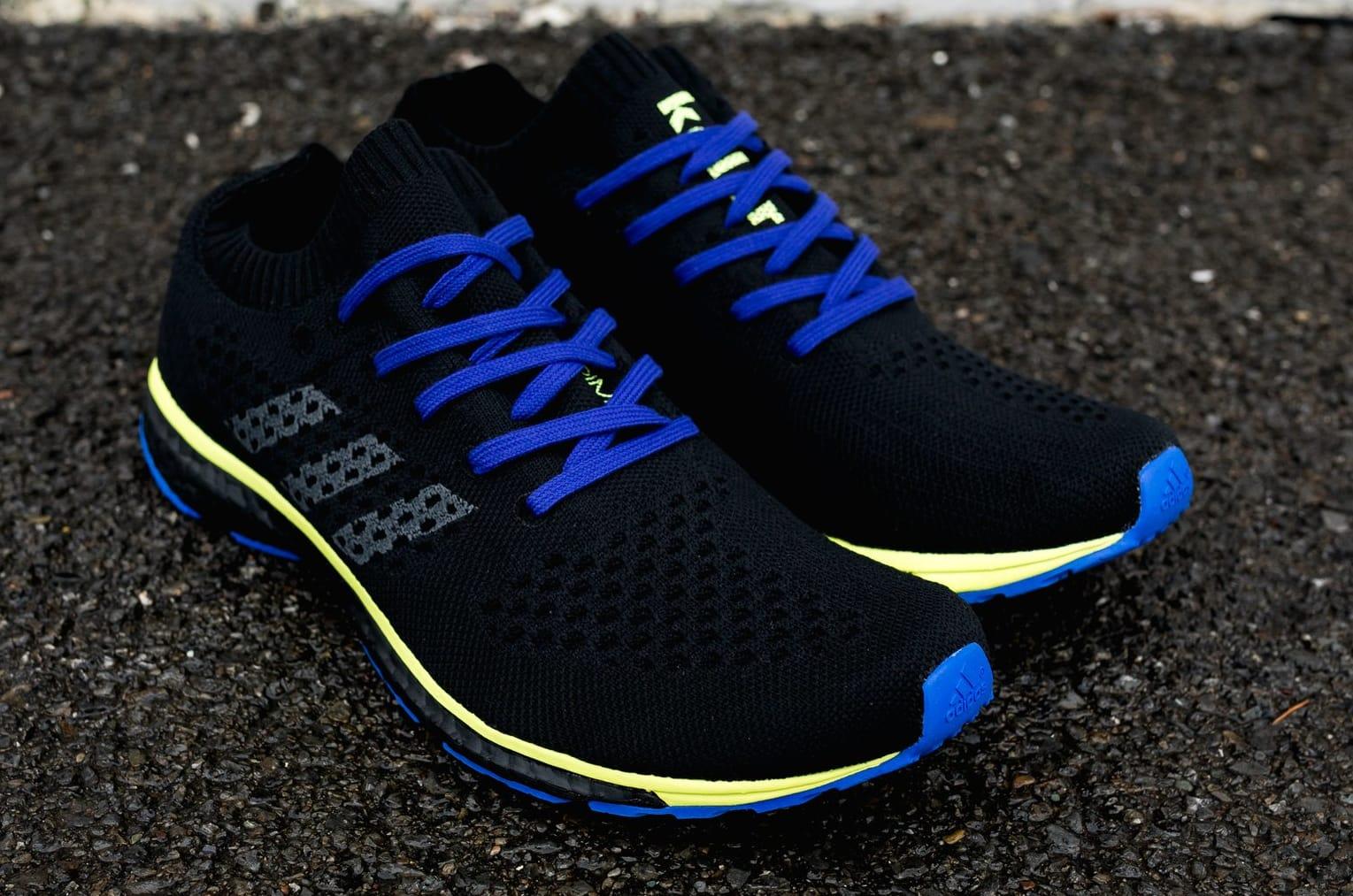 Adidas by Kolor Adizero Prime Black/Grey/Yellow (Pair)