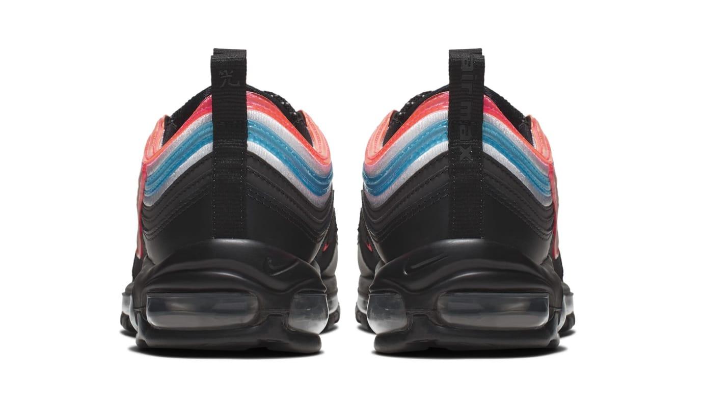 Nike Air Max 97 'Neon Seoul' Heel